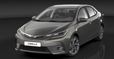Toyota Corolla Sedan front