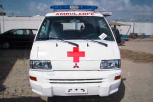 Kaura Ambulance Mitsubishi new 001